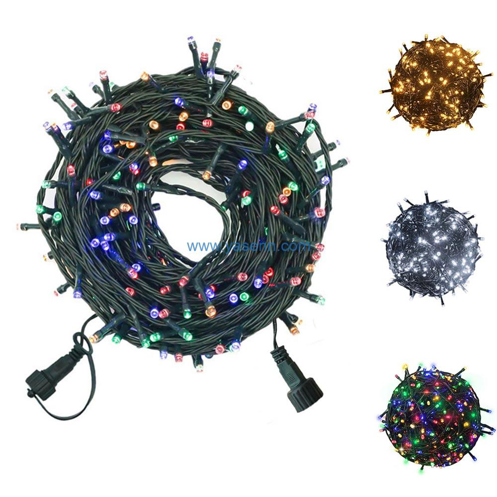 200 Count Twinkly Led String Lights With 8 Lighting Modes,Low Voltage Connectable String Fairy Lights For Indoor Outdoor