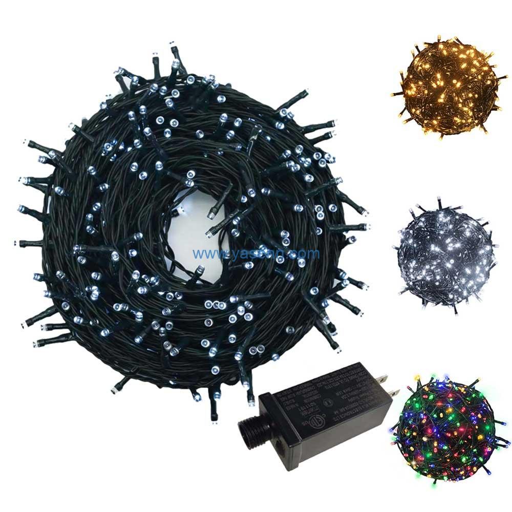 300 Count Twinkly Led String Lights With 8 Lighting Mode,Low Voltage Fairy Lights For Indoor Outdoor