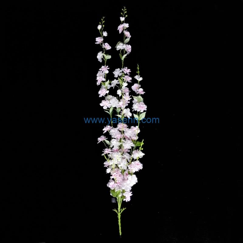 Wall mount Cherry blossoms Fake Flower Artificial Flowers For Table Floral Office Decor Party Decor