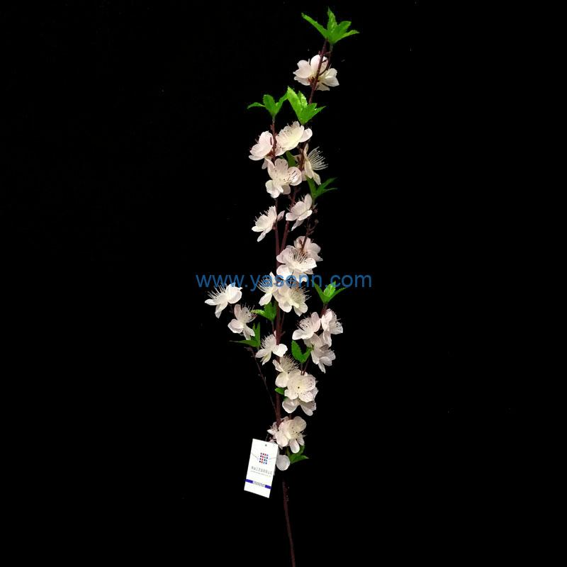 5 Branches Cherry Blossoms Artificial Stems