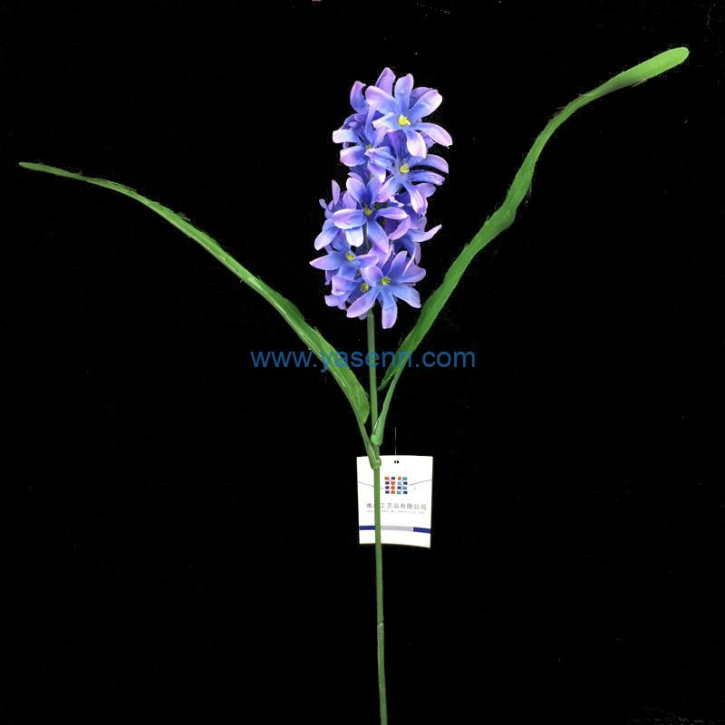Single Hyacinth Artificial Stems Pastoral Style Artificial Flower Home Decoration Wedding Decorative Flowers
