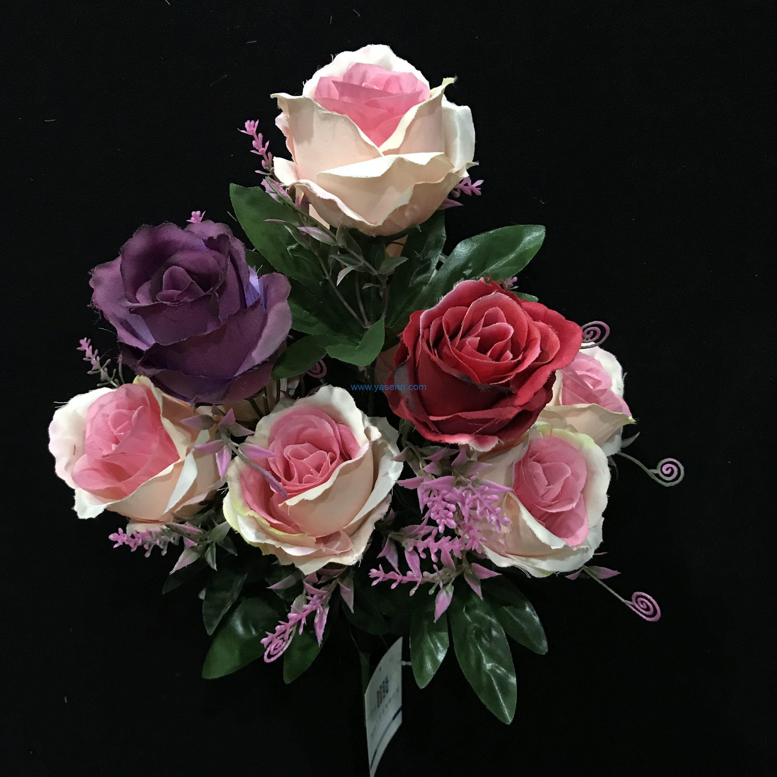 Artificial 10 Branches Rose Artificial Greenery