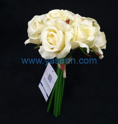 Artificial flowers 12 Branches Rose