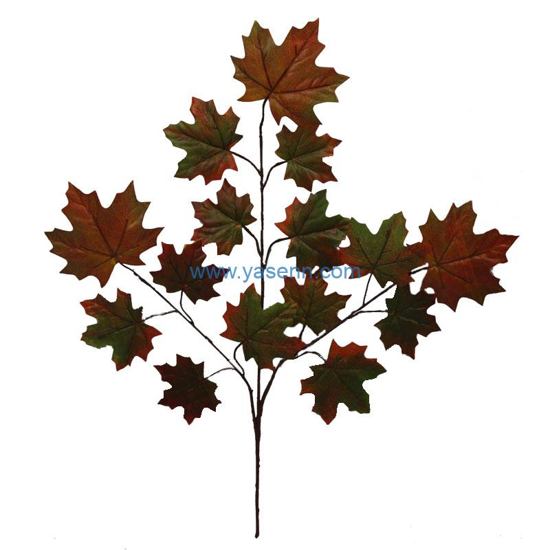 3 Branches Maple Leaves