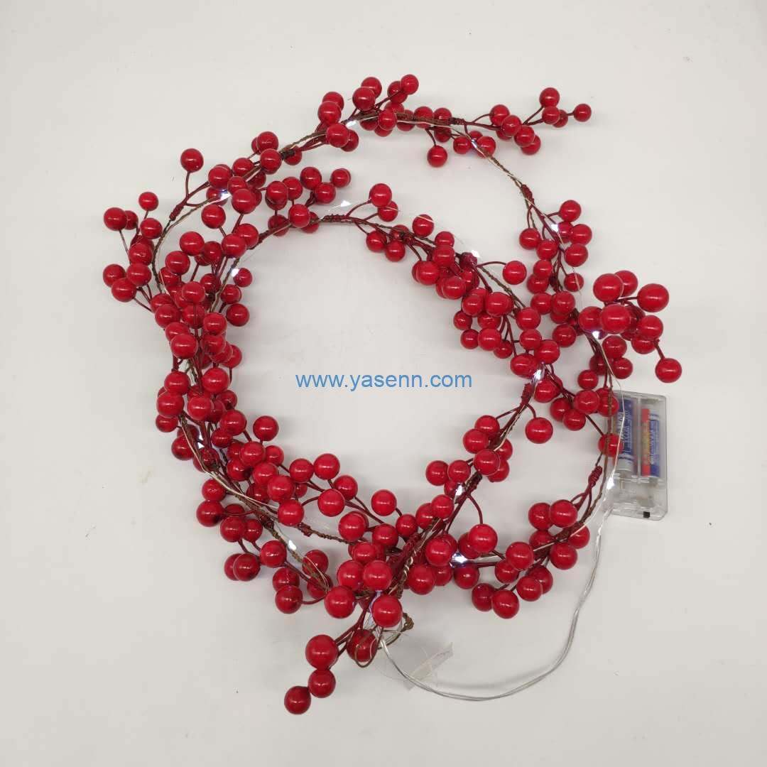 Christmas Lights YSLB070 20L LED Copper Wire Light With Christmas Item Decoration