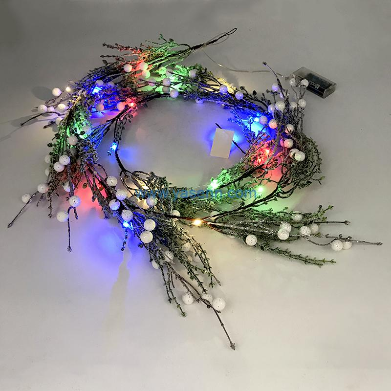 Christmas Fancy Light YSLB075 20L LED Copper Wire Light Christmas Item Decoration