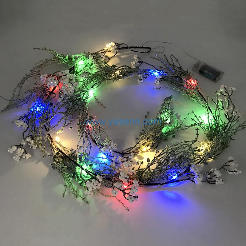 Lights Christmas YSLB076 20L LED Copper Wire Light Christmas Item Decoration