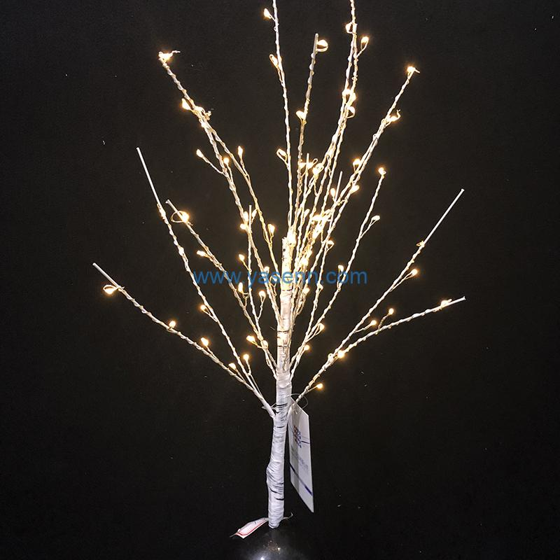 christmas tree lights YSLL044 192L LED Copper Wire Tree Light With USB Supply