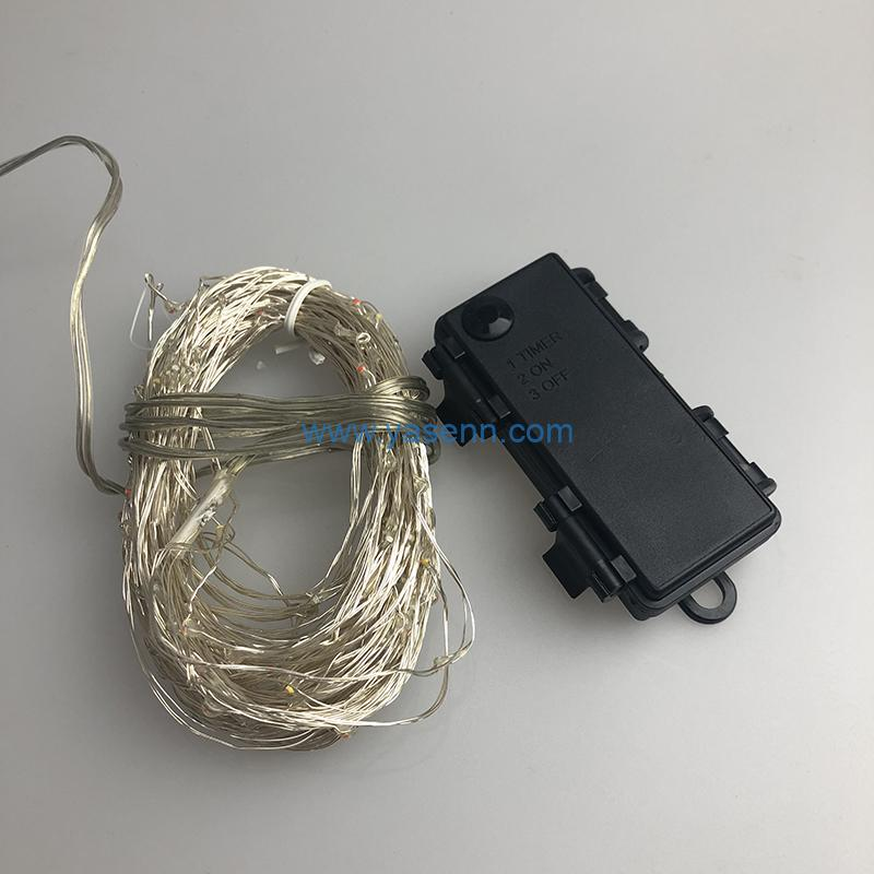 Christmas copper Light YSLL066 200L LED Copper Wire Light With Battery Box