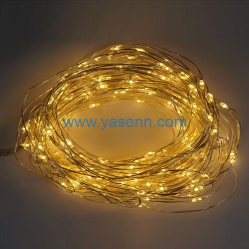 LED Christmas Light YSLL19018 200L LED Copper Wire Brunch Light With Adapter