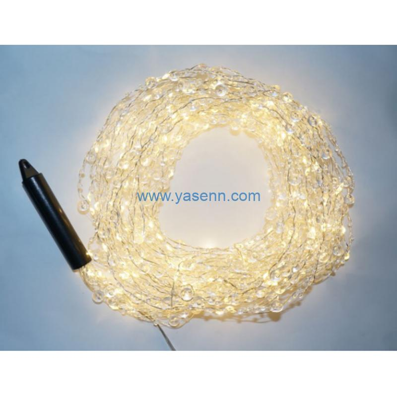 Brunch light YSLL19028 200L LED Copper Wire Brunch Light With Adapter