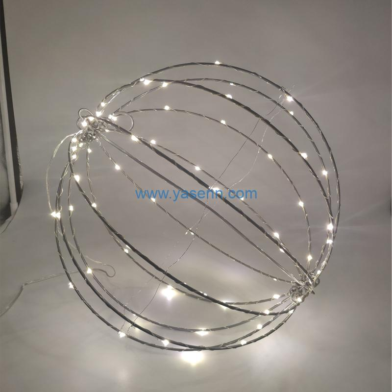 LED Copper Wire Lights YSLL19035 96L LED Copper Wire Light With Adapter
