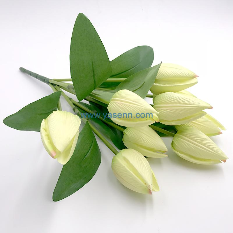 Artificial Flowers 9 branches Tulip
