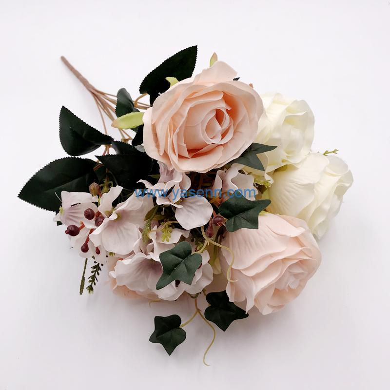 Artificial Flowers 10 Branches Roses