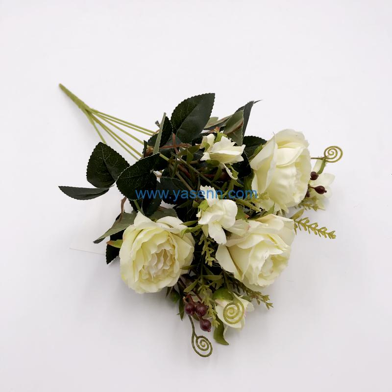 Artificial Flowers 7 Branches Rose