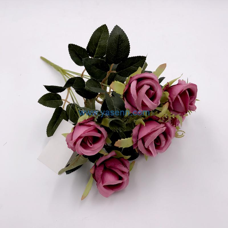 7 Branches Rose Silk flowers