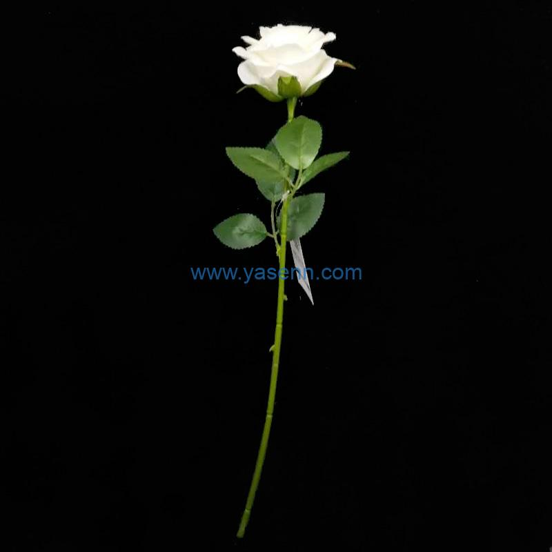 Artificial Flowers Rose Stems Faux Stems for Wedding Home Garden Decor Store Opening Hotel Table Decoration