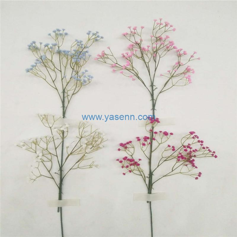 Single Gypsophila Artificial Flowers Long Stem Silk Flowers for Home Wedding Home Party Table Decorations