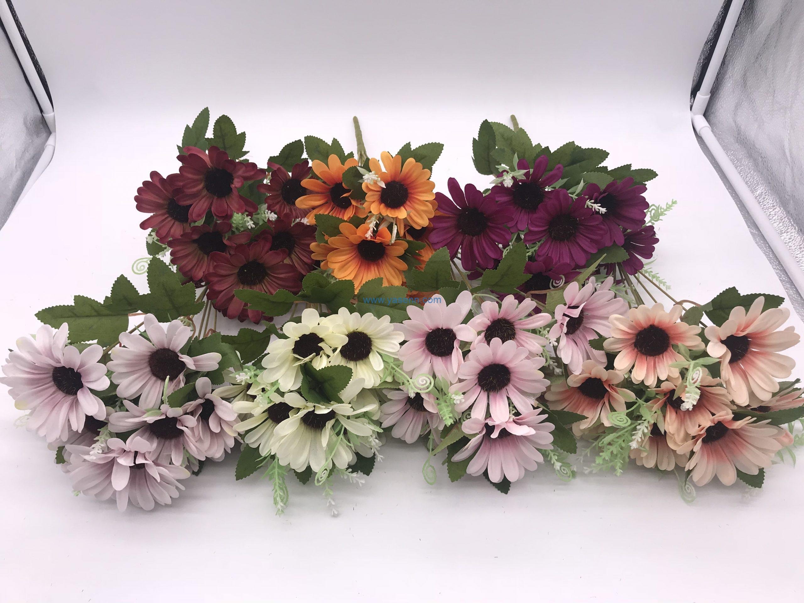 Autumn Artificial Flowers and Leaves