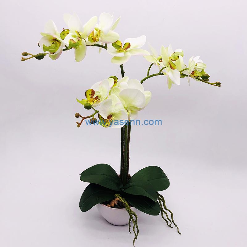 How are your silk flower arrangements measured?