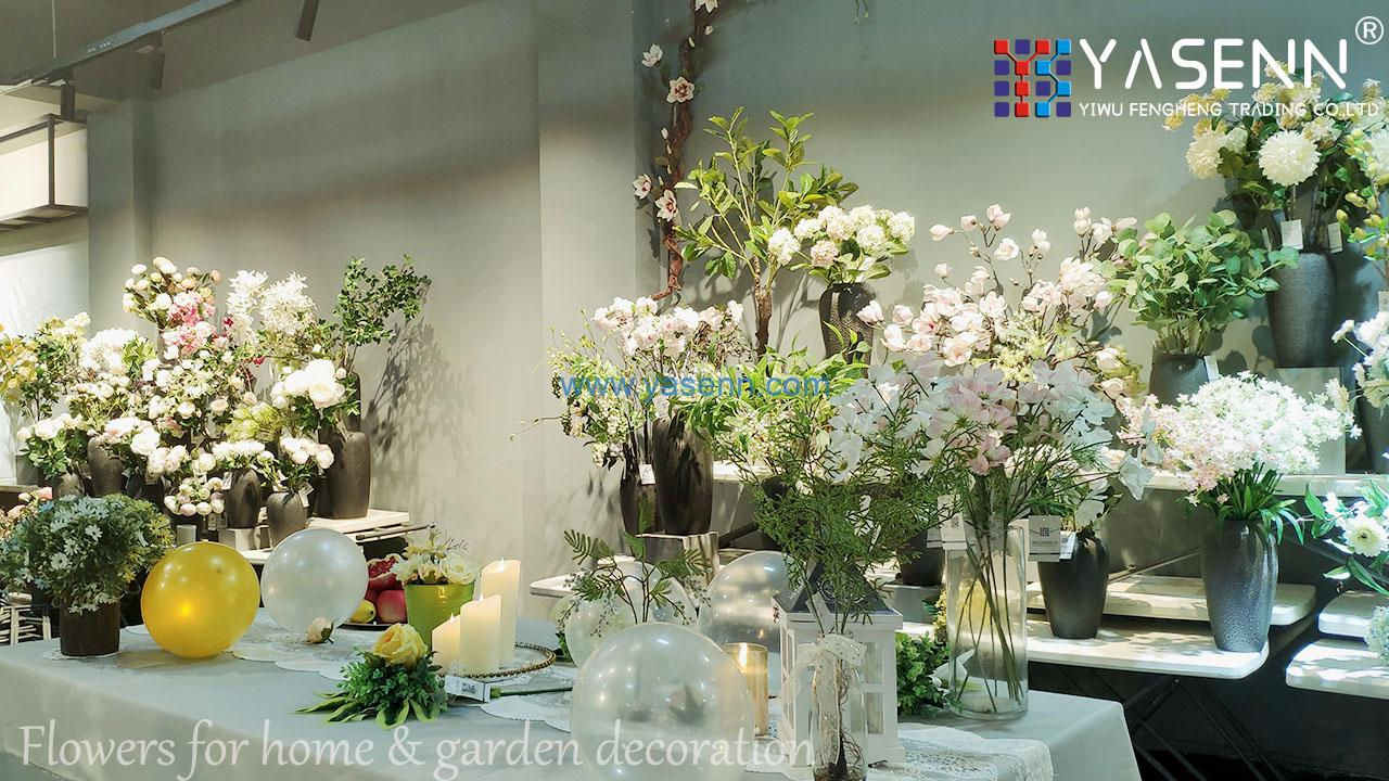 wedding decor flower Can the fake flowers used for wedding decor?