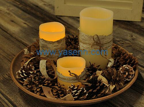 Use LED Candles to Create Holiday Decor