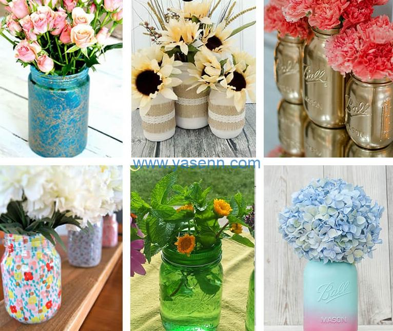 How To Use Artificial Flower To Make Cute And Inexpensive Home Decor