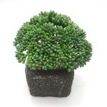 How to use the artificial bonsai to decor the bathroom