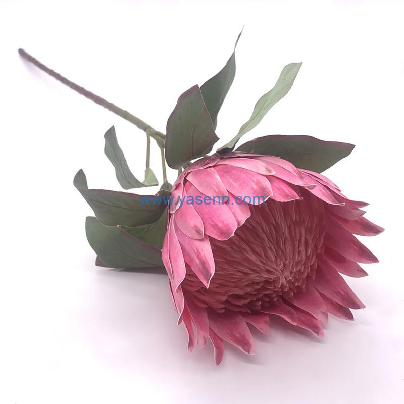 Artificial Protea cynaroides Flower in our Company