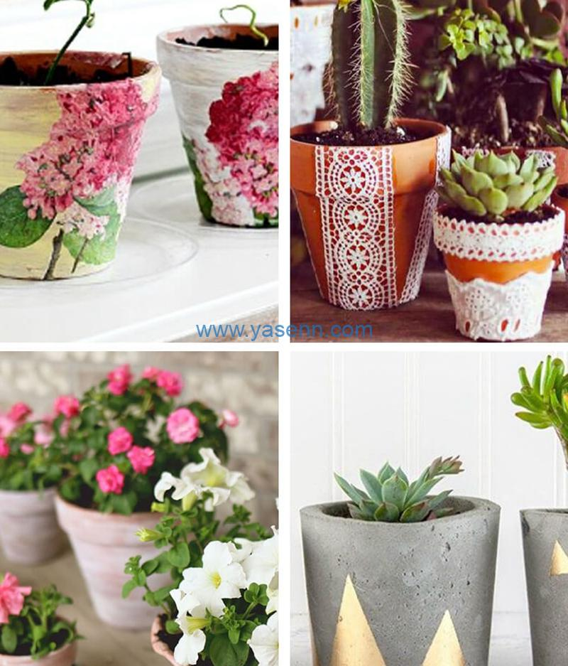 How to use artificial pots to decor your home and office