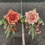 how to use our new artificial flower items to decor your holiday