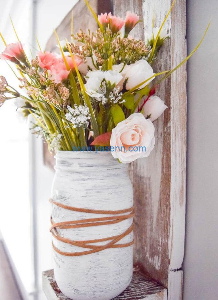 good idears to the artificial flower for spring decor