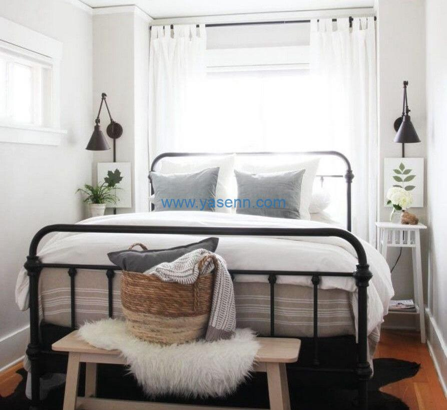 artificial plants are good options to decor your bedroom